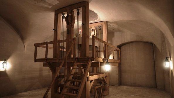 Les curiosités du château de Lunéville - La Table Volante