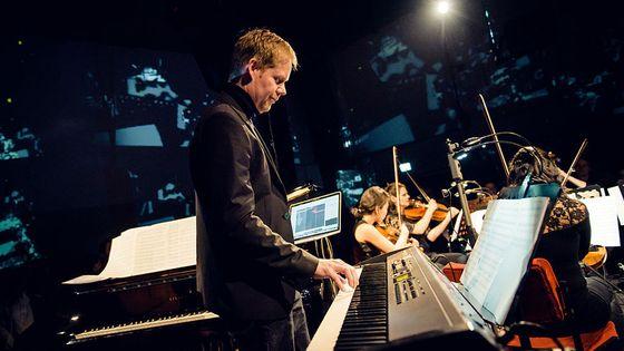 Concert du compositeur Max Richter à Berlin