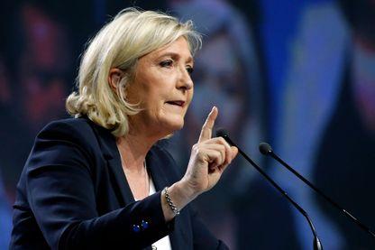 Marine Le Pen, présidente du RN
