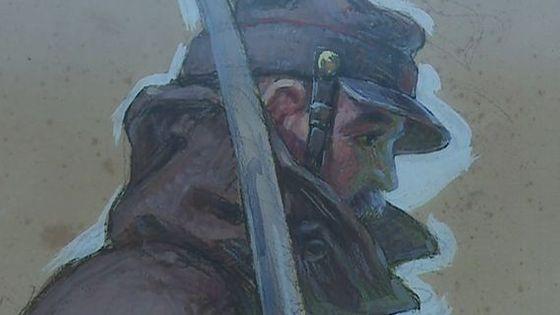 Portrait de combattant de la Grande Guerre par Camille Godet (détail) / Musée des Beaux-Arts de Rennes