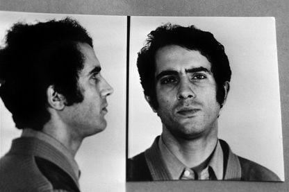 Portrait de Joël Matencio, chômeur condamné à la réclusion criminelle à perpétuité le 21 novembre 1981 pour l'enlèvement et le meurtre de deux jeunes femmes et d'un jeune homme à Grenoble, en 1976.