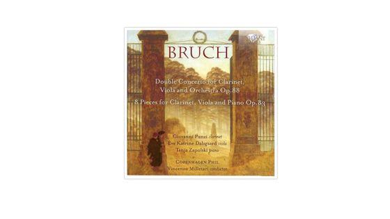 Max Bruch : Œuvres pour clarinette BRILLIANT CLASSICS