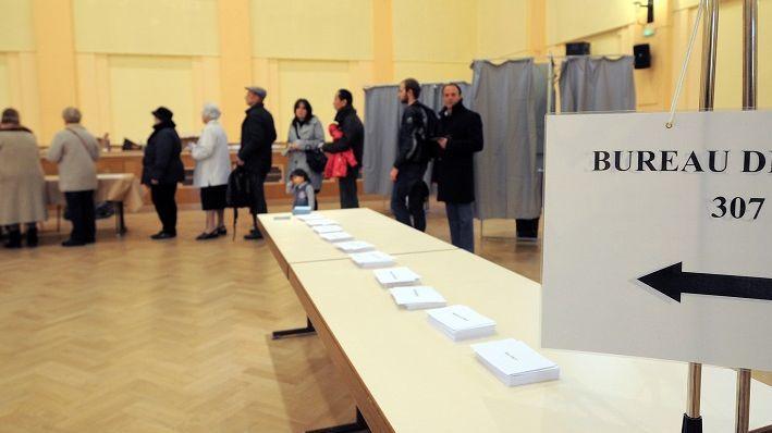 Un bureau de vote (photo d'illustration)