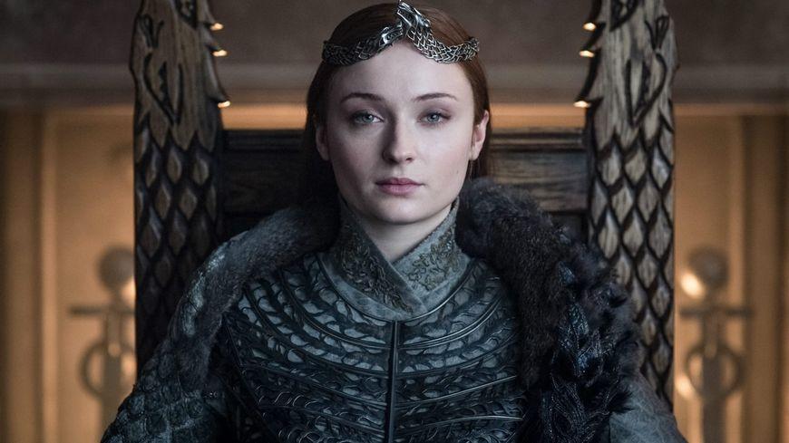 "Sophie Turner allais Sansa Stark dans la série ""Game of Thrones"""