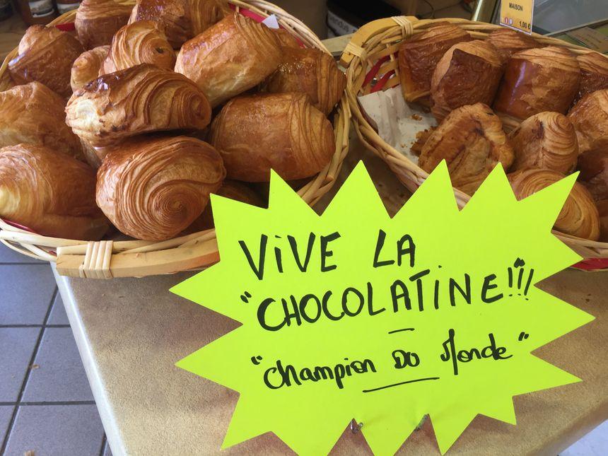 Les chocolatines de Sébastien Lagrue se vendent... comme des petits pains !