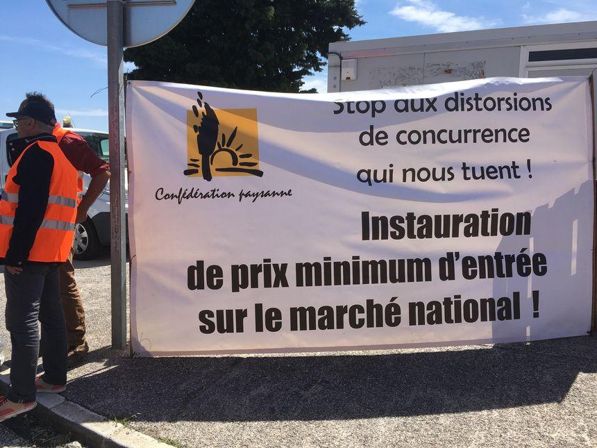Les producteurs demandent au gouvernement français un prix minimum d'entrée