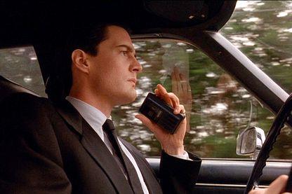 Kyle MacLachlan, alias l'agent spécial Dale Cooper,  dans le pilote de la série 'Twin Peaks'