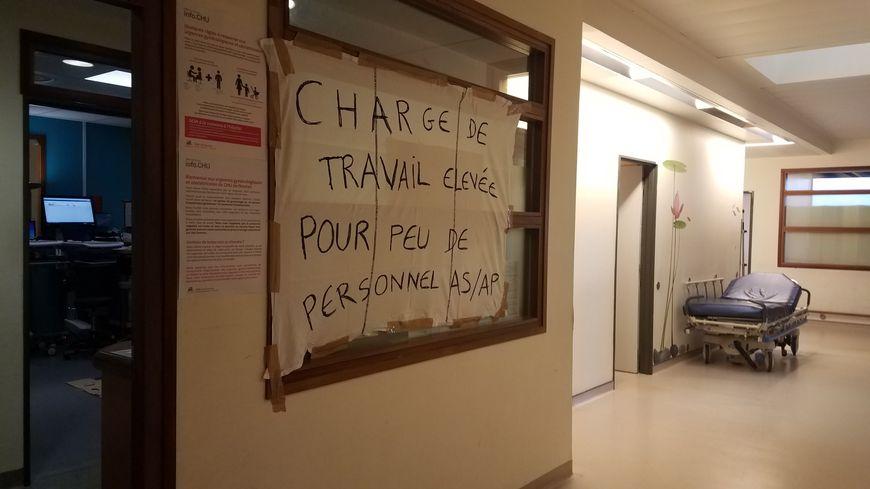 Depuis ce mardi, les soignantes du service de gynécologie-obstétrique sont en grève illimitée