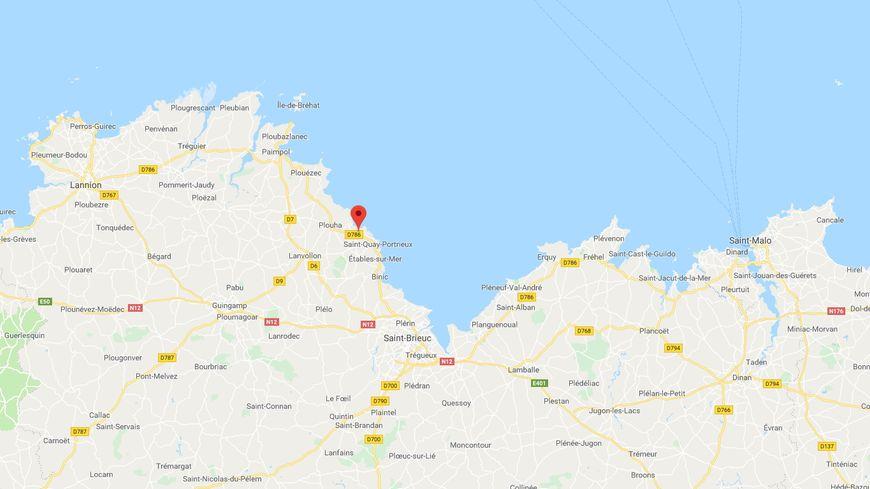 Capture écran Google Maps