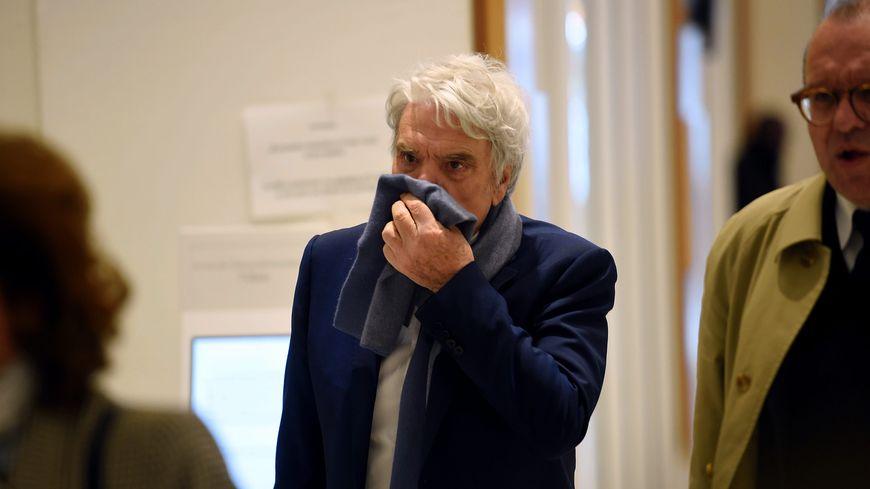 Bernard Tapie lors de son procès dans l'arbitrage