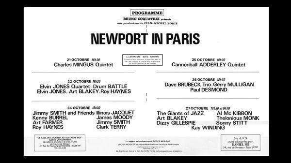 The Giants Of Jazz à Paris en 1972 (2/2)