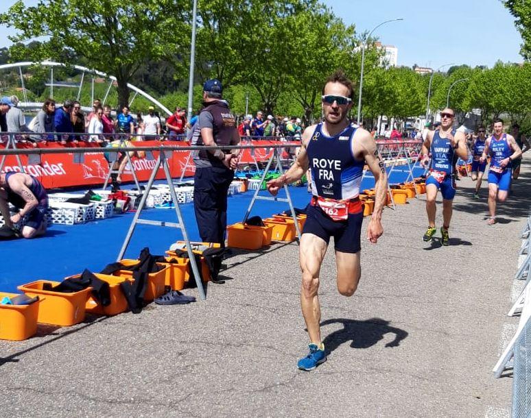 Le Périgourdin participe au triathlon longue distance ce samedi 4 mai.