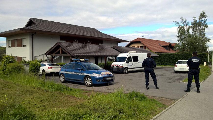 Le domicile de Cédric Mahieu, le père de Léa, en 2016 à Margencel (Haute-Savoie)