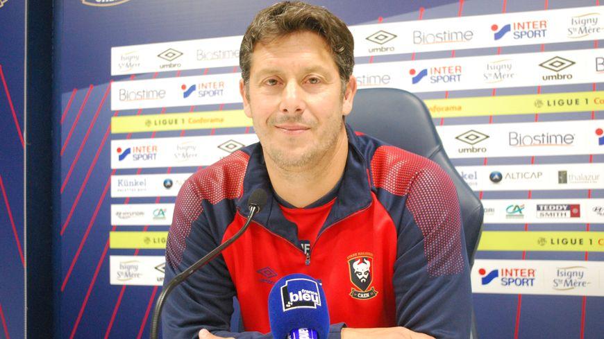 Fabien Mercadal sera resté un peu moins d'un an en place sur le banc du SM Caen