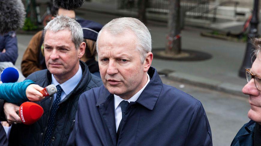 Le procureur de la Républque de Paris Rémy Heitz le 16 avril 2019 à Paris