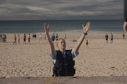 "Image de la série policière ""Top of the Lake: China Girl"", avec Gwendoline Christie (Brienne dans ""Game of Thrones"")"