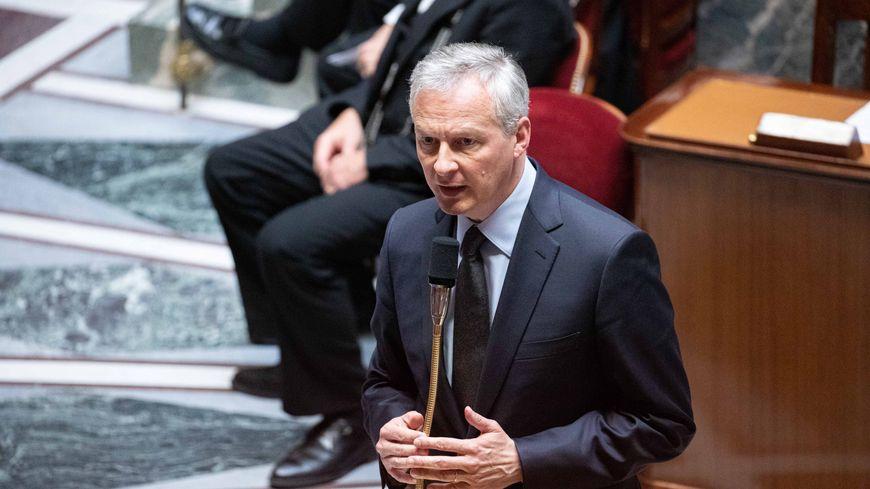 Bruno Le Maire à l'Assemblée nationale ce mardi 28 mai 2019.