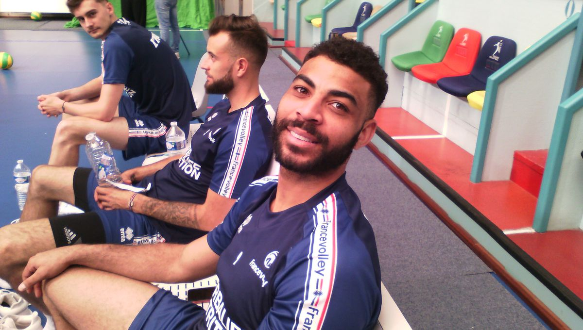 L'équipe de France de volley-ball est en préparation à Tours jusqu'à lundi