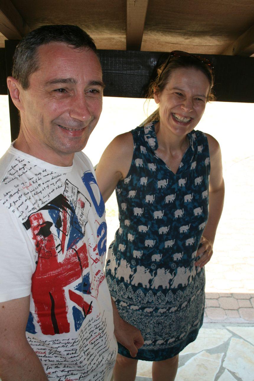 Eugénie et Bernard Larrivière.