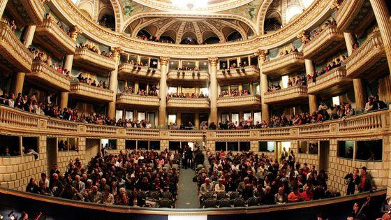 La salle de l'Opéra de Bordeaux