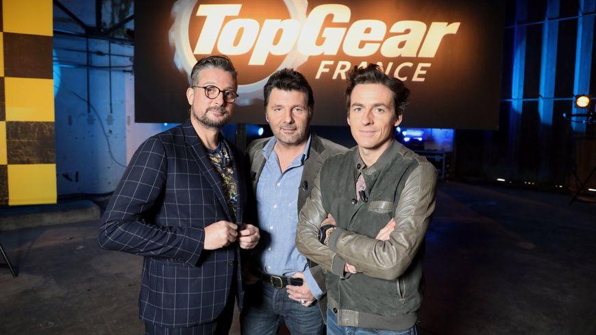 Le Tone, Philippe Lellouche et Bruce Jouanny se rendent en Sarthe pour animer l'émission Top Gear France.