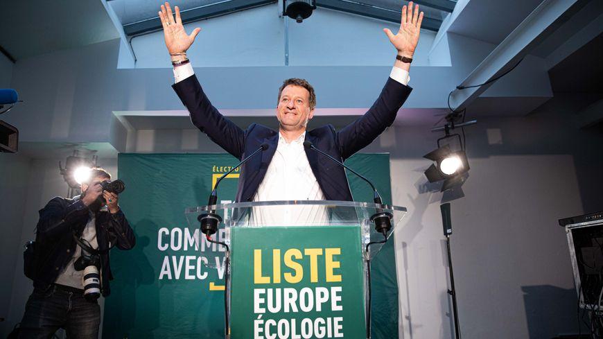 Yannick Jadot, tête de liste EELV, arrivé en troisième position aux élections européennes