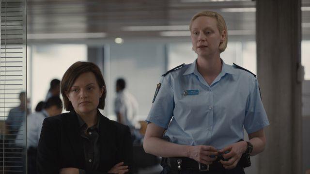 """Image de la série policière """"Top of the Lake: China Girl"""", avec Elisabeth Moss et Gwendoline Christie"""