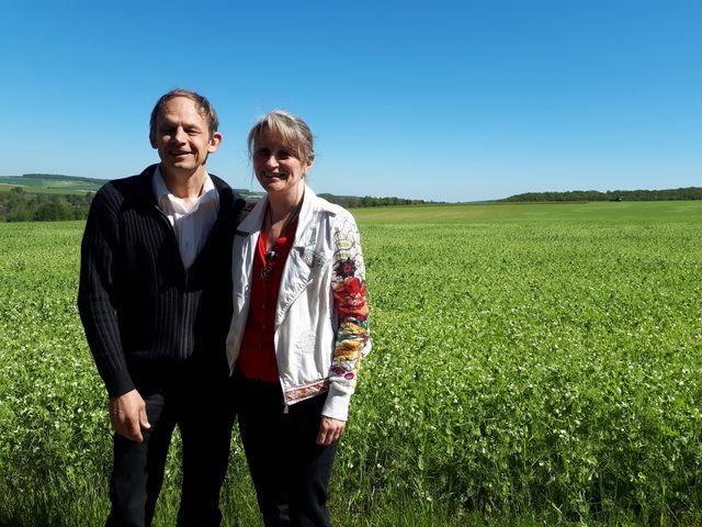 La famille Vincent, à Chigy dans l'Yonne s'est convertie à l'agriculture bio en 2010