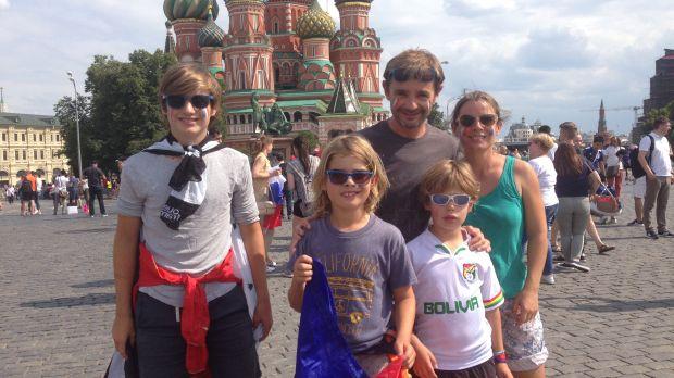 La famille Gourmelon au complet