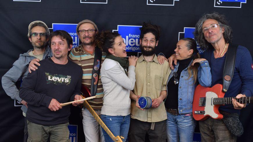 Human Sound Side, invité du Live Aquitain de France Bleu