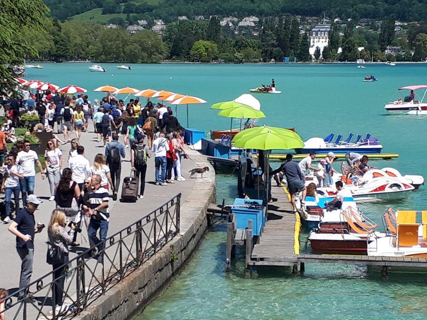 Comme un air de vacances sur les bords du lac d'Annecy