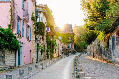 Rue de Montmartre à Paris