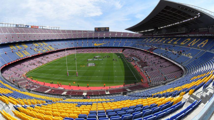 Le Camp Nou à l'heure du rugby à XIII