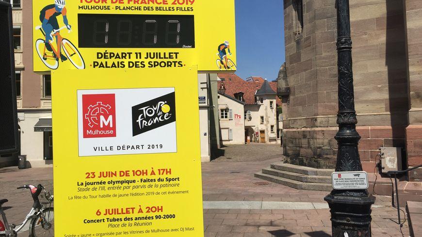 Un compteur vient d'être installé place de la Réunion à Mulhouse
