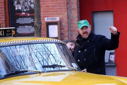 """Louis C.K. sur le tournage de """"Louie"""""""