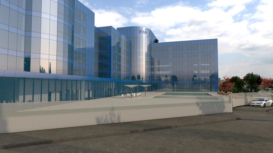Les bureaux roannais seront sensiblement similaires à ceux déjà présents à Romans-sur-Isère (Drôme)