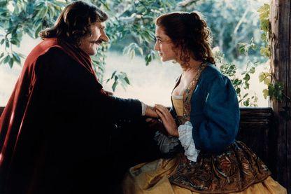 Gérard Depardieu et Anne Brochet dans Cyrano de Bergerac