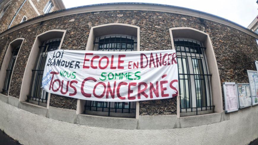 Mobilisation contre la Loi Blanquer. Photo d'illustration