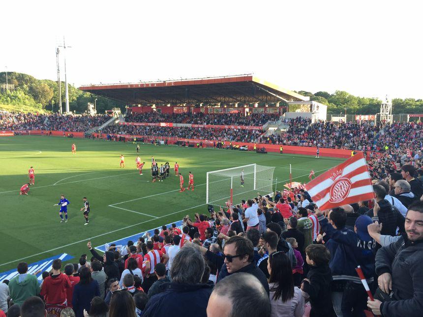 C'était le dernier match à domicile pour Girona