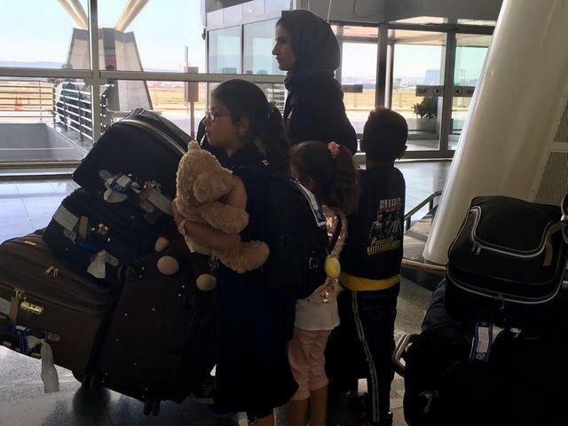 Ce sont leurs enfants qui ont donné à ces femmes la force d'entreprendre le voyage