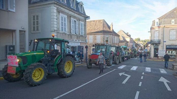 En octobre 2017, 200 personnes avaient manifesté à Saint-Yrieix-la-Perche contre le projet (archives)