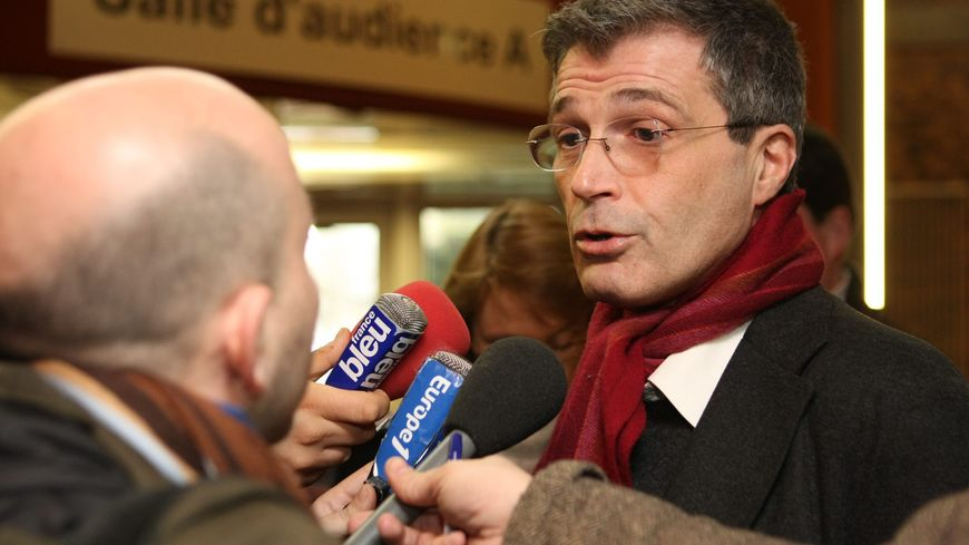 Me Alain Dreyfus-Schmidt, avocat de Catherine Nambot dans l'affaire Péchier (photo d'illustration janvier 2011)