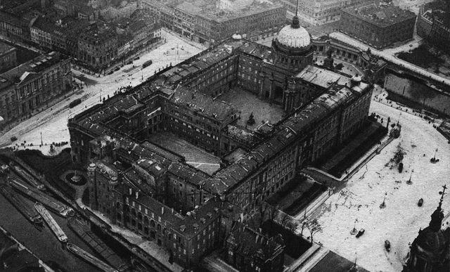 Le château des rois de Prusse en 1920