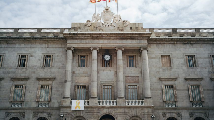La mairie de Barcelone