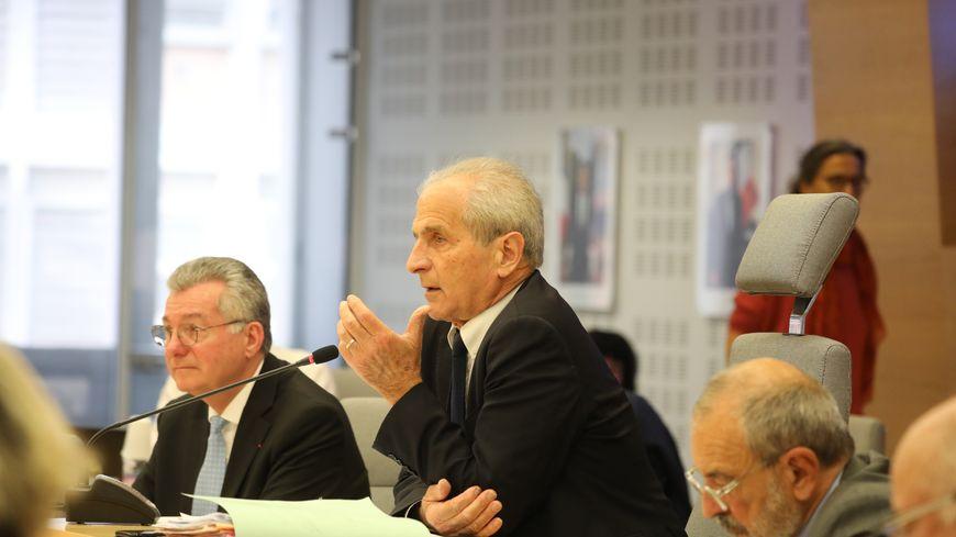 Hubert Falco, le maire de Toulon