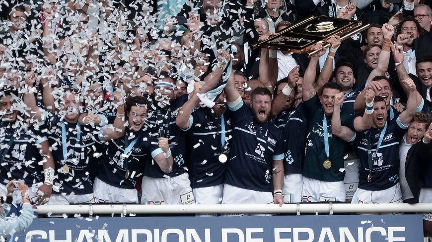 Les Bayonnais sont champions de Pro D2 et retrouveront donc le Top 14 la saison prochaine.