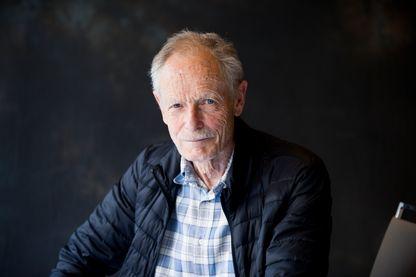 Portrait de l'écrivain, poète et traducteur italien contemporain Erri De Luca en 2018.