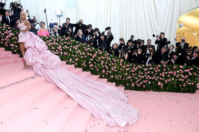 La rappeuse Nicki Minaj au Gala du Met 2019 à New York