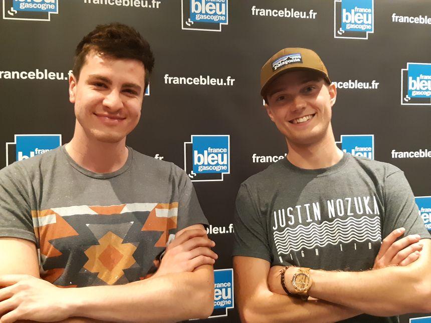 Lukas et Matt