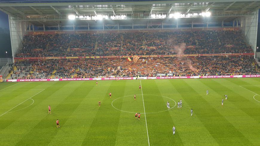 Plus de 32 000 supporters lensois ont poussé leur équipe